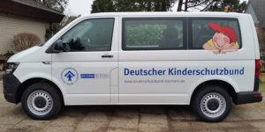 Autobeschriftung / Transporter-Beschriftung DKSB